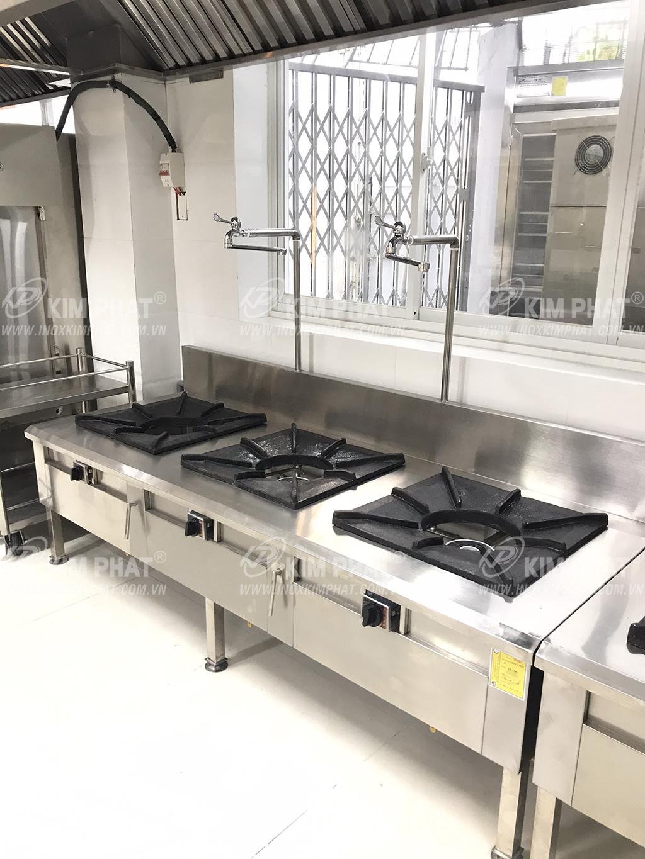 Kim phát chuyên sản xuất bếp gas công nghiệp