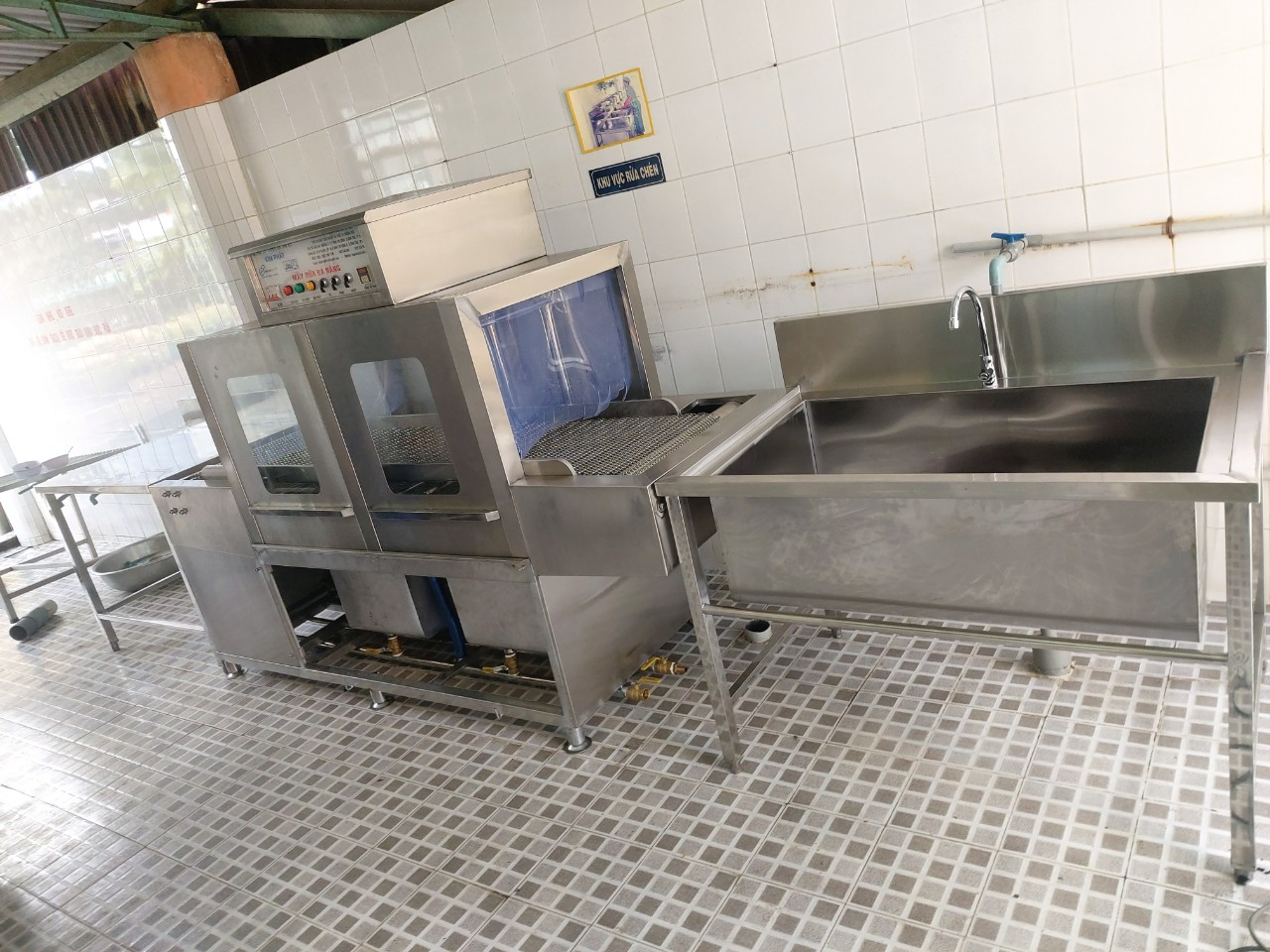 máy rửa chén bát inox kim phát tại tp hồ chí minh