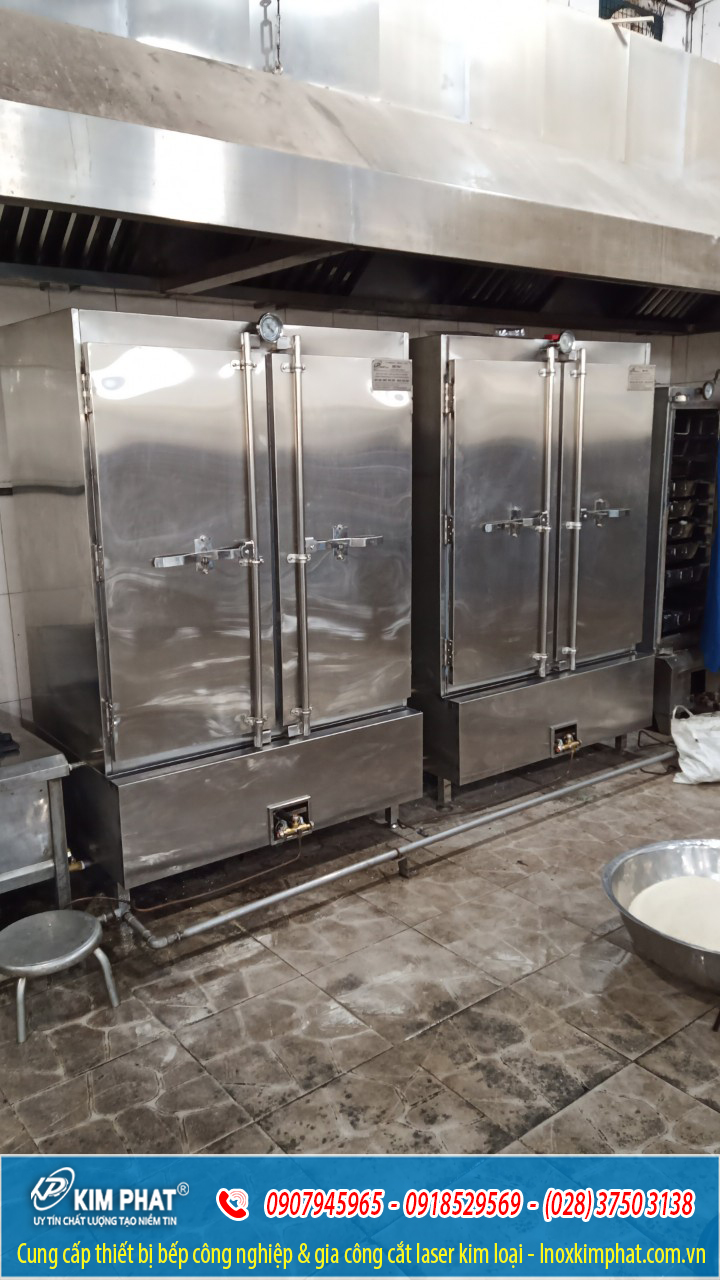 Lắp đặt tủ nấu cơm trường đại học cảnh sát nhân dân