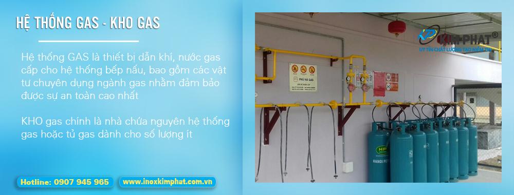 Hệ thống gas, kho gas , ống dẫn gas công nghiệp nhà hàng, trường học, căn tin